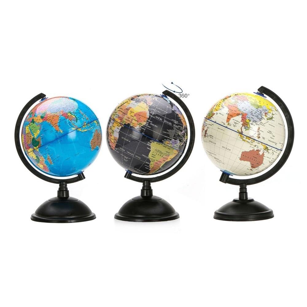 20 Cm Globus Ozean Welt Globus Karte Mit Swivel Stand Geographie Pädagogisches Spielzeug Verbessern Wissen Von Erde Und Geographie Aromatischer Charakter Und Angenehmer Geschmack