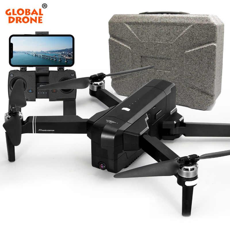 Глобальный Дрон Профессиональный следящий за мной Дрон на ру 5G Wi-Fi FPV долгое время Летающий Квадрокоптер gps Дроны с камерой HD 1080 P VS CG033 F11