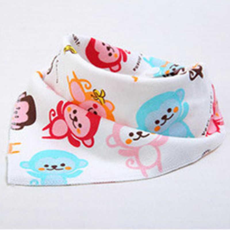 Śliniaki dla niemowląt muślin dziecko bawełniany śliniaczek śliniaczek trójkąt wodoodporne śliniaki ssać pad śliniaczek babero algodon drukowana chustka