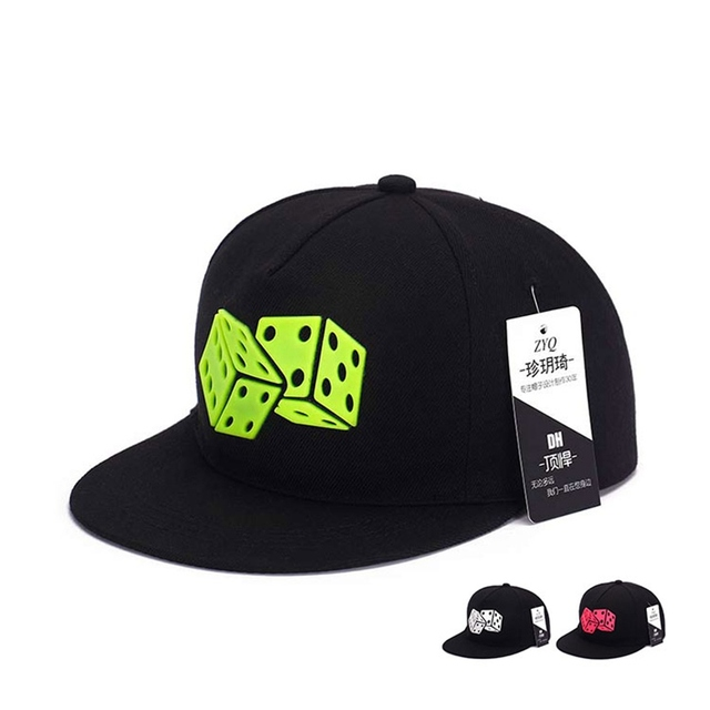91b9c73e7b5 Big Promotion Stylish Butter Dice Women Men Snapback Caps Hats Teenagers  Swag Hip-Hop Flat Brim Caps Bones Free Shipping
