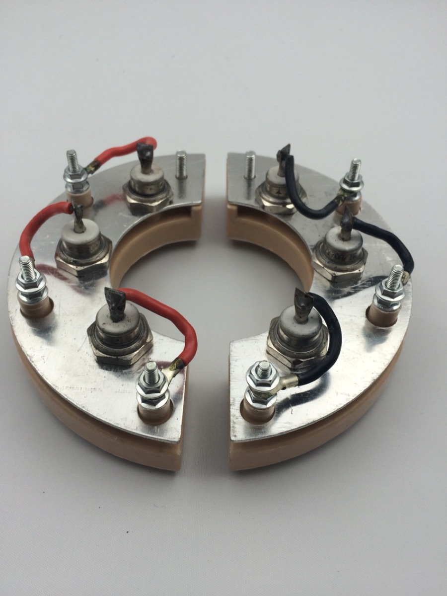Brushless generator rectifier wheel 70A, RSK5001, diode rectifier wheel