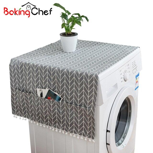 BAKINGCHEF Lavaggio di Uso Domestico Macchina Polvere Copertura Cucina Frigorife
