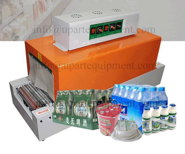 À manches d'étanchéité machine d'emballage en plastique sac scellant, film rétractable machine de cachetage, enveloppe DE PVC scellant type L scelleur latéral