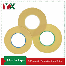 YX Margin Tape High Insulation Adhesive Tape For Transformer Insulation Coil Wrapping 0.15mm/0.28mm/0.45mm Thickness