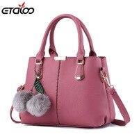 Women Bag 2017 New Bag Women Leather Handbags Female Sweet Lady Fashion Handbag Messenger Bag Shoulder