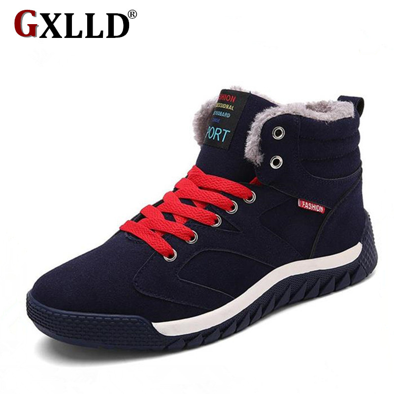 Hot Sale 2016 Fashion Men Winter Snow Boots Keep Warm ...
