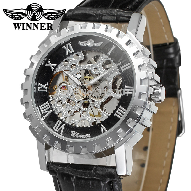 compare prices on watch company men online shopping buy low price wrg8036m3s1 winner mechanical handwind skeleton men gift box watch black leather strap factory company shipping