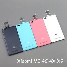 Xiaomi Mi 4C Mi 4c m4c X9 4i аккумулятора телефона задняя крышка 5.0 «Красочные Крышка батарейного отсека (с слот sim-карты)