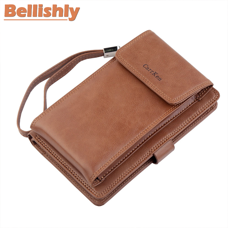 Portemonnee Billfold.Special Price Bellishly Famous Brand Designer Men Wallet Pu Leather