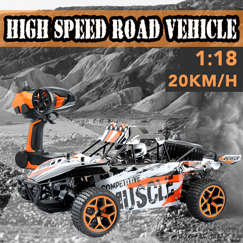 Electrotops ET03B 1:18 2.4Ghz 4WD Excessive Pace Radio Management RC Automobile Toys