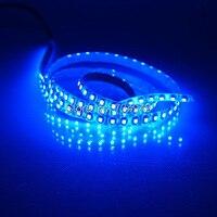Blanc PCB Un Mètre SMD3528 Flexible LED Bandes 12VDC 120 Led Blanc, Rouge, Vert, Bleu, Jaune