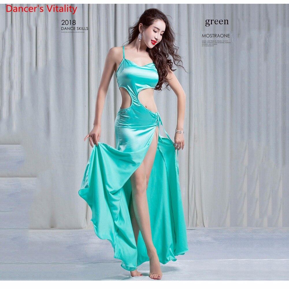 Belly Dance Performance Belly Dance Elegant Silk Dress Girl/Women Dress Dresses Belly Dancing Belly Dance Costumes Comfortable