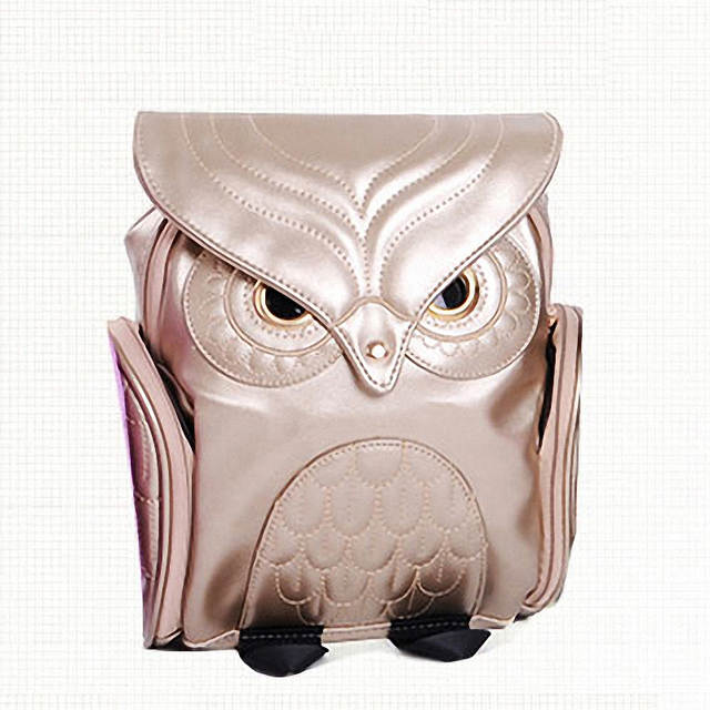49dbf680a3 placeholder Fashion Cute Owl Backpack Women Cartoon School Bags For  Teenagers Girls PU Leather Women Backpack 2016