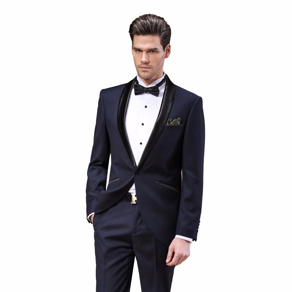 DARO 2019 New Arrival Male Wedding Dress Tuxedos Men's Party Suit - Men's Clothing