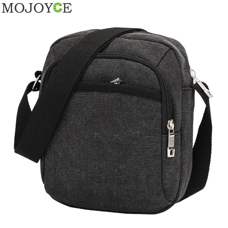 Fashion Men Shoulder Crossbody Bag Canvas Mens Handbag Casual Travel Crossbody Bags Designers Brand Messenger Men's Bags 2018 aerlis brand men handbag canvas pu leather satchel messenger sling bag versatile male casual crossbody shoulder school bags 4390