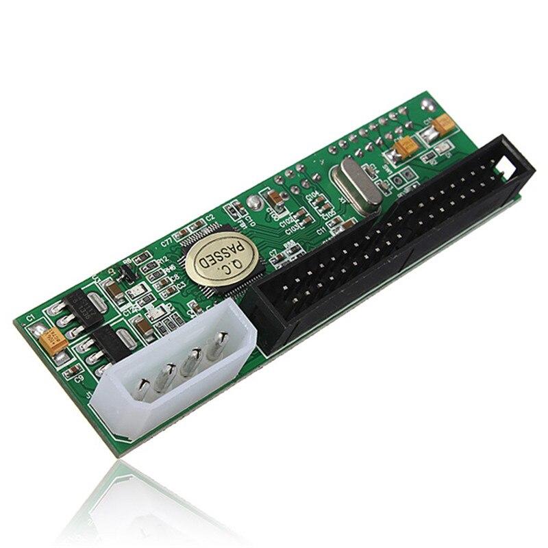 New 2.5/3.5 Hard Drive Serial SATA to ATA IDE PATA Card 40Pin HDD CD DVD Converter Adapter SATA To Male 40Pin IDE Adapter
