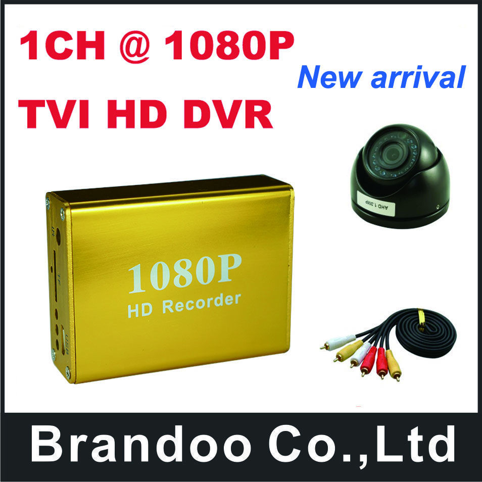 1CH HD 1080P SD CAR DVR kit,including 1pcs Mini dome TVI Camera,support 128GB sd card,for taxi,car,mini bus use china pocket guide