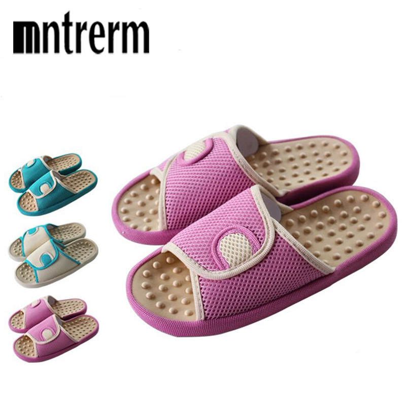 2018 New Summer Women Flat with Slippers Home Female  Floor Slip-Resistant At Home Male Acupoint Massage shoes2018 New Summer Women Flat with Slippers Home Female  Floor Slip-Resistant At Home Male Acupoint Massage shoes