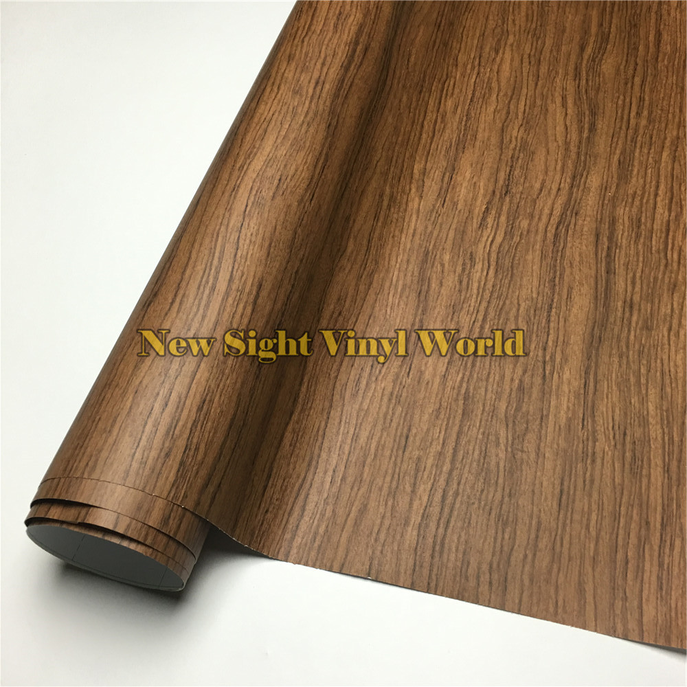 Rosewood Wood Textured Vinyl Sheet Film Sticker PVC For Floor Furniture Car Interier Size:1.24X50m/Roll(4ft X 165ft)