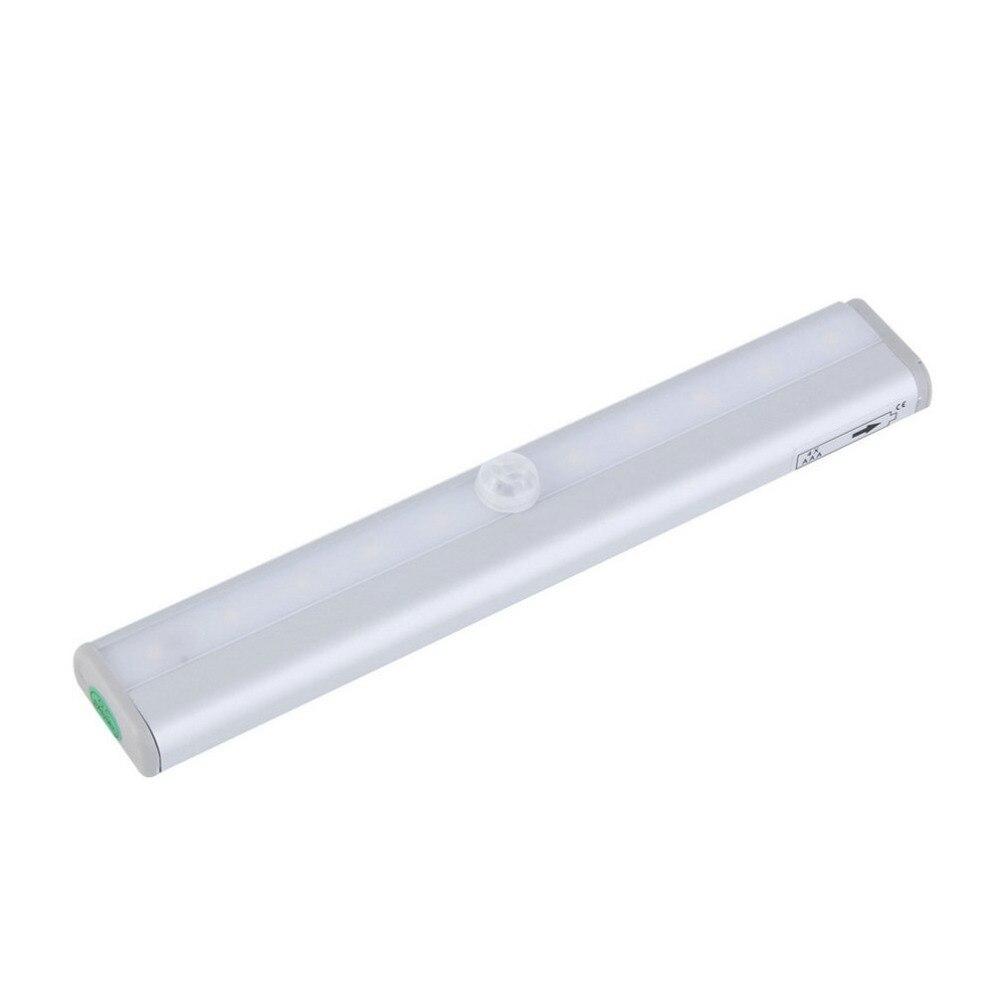 ICOCO New TDL-7120 10 LED IR Infrared Motion Detector Wireless Sensor Lighting Closet Night Battery Lamp Cabinet Wardrobe Light