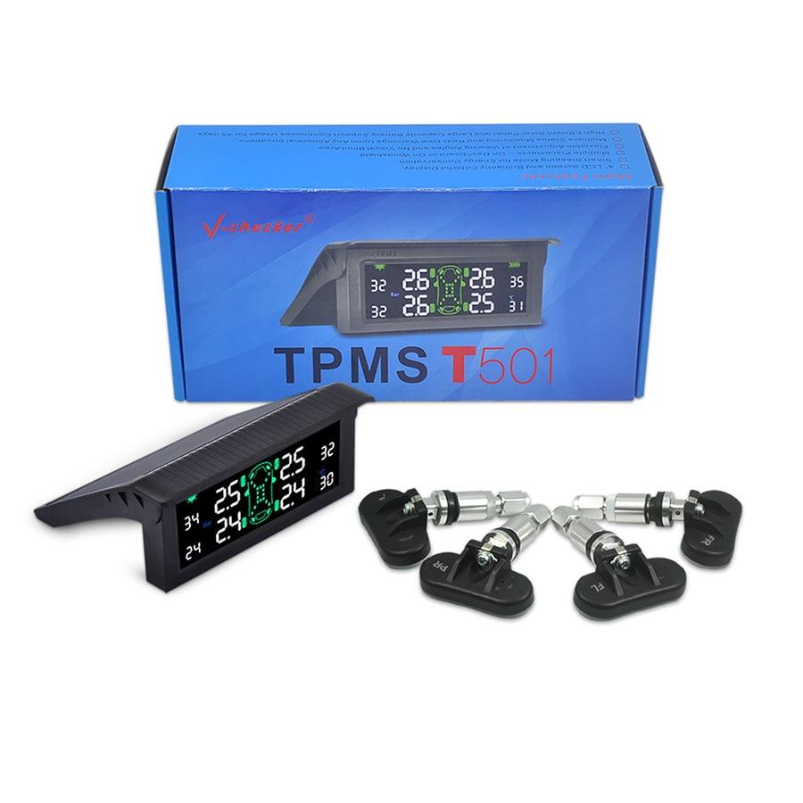 TPMS Internal Sensor Tire Pressure Monitoring System Tire Vchecker T501 цены онлайн