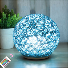 Rattan led Wicker Night Light Romantic Warm White Led Night light Baby Sleeping Atmosphere Lamps Home Decoration Lamp for lover