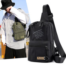 Multifunction Crossbody Men Bags Waterproof Chest Pack Short Trip Messengers Chest Bag Shoulder Bag(China)
