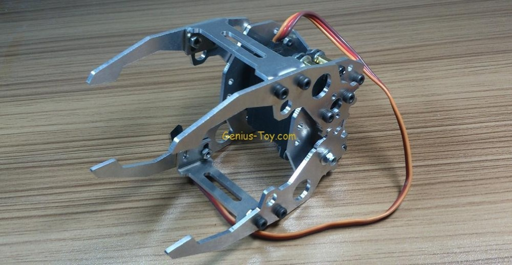 Manipulator Robot Gripper Robot Manipulator Metal Gripper Claw Tower Pro MG946R for arduino