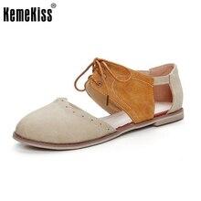 Женская обувь сандалии Плоским пятки на шнуровке Лоскутное Сладкий Случайный Старинные дамы Sandalias Квартиры Пляжная Обувь Mujer размер 32-43 PA00424
