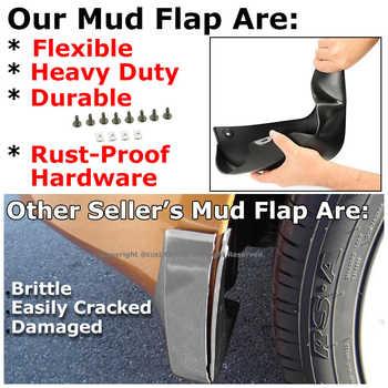 Xukey Car Mud Flaps For Mini Countryman F60 R60 Cooper Clubman R55 2008 - 2018 Mudflaps Mud Flap Splash Guard 2016 Front Rear