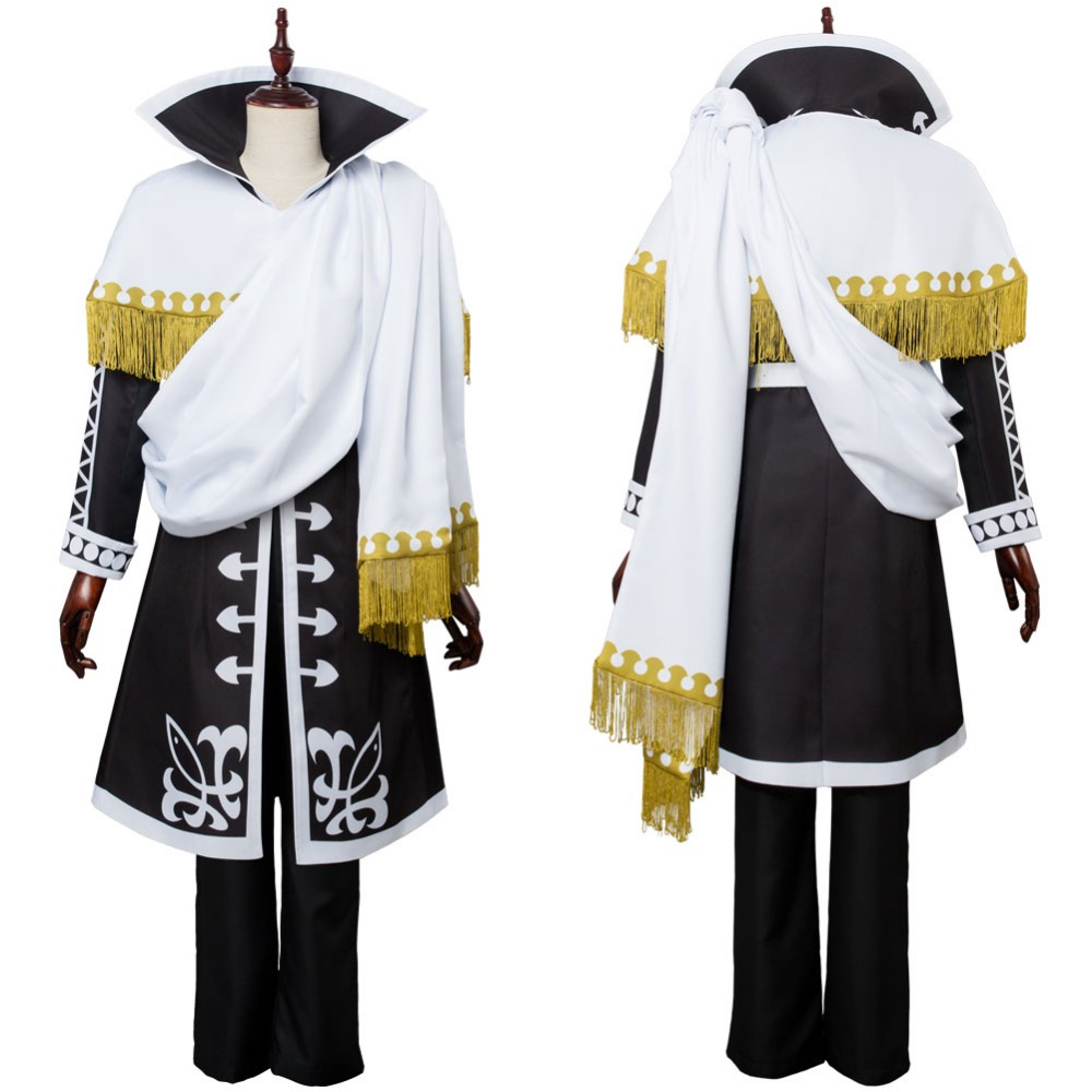 Fairy Tail Cosplay Zeref Dragneel Emperor Cosplay Costume Outfit Uniform Clothing Halloween Carnival Cosplay Costumes