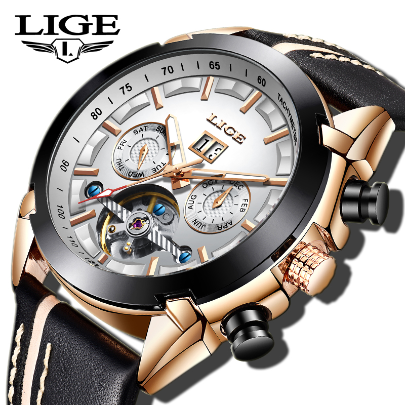 2019LIGE New Business Machinery Watch Highgrade Military Sports Waterproof Watch Men Top Brand Tourbillon Clock Relogio Masculin2019LIGE New Business Machinery Watch Highgrade Military Sports Waterproof Watch Men Top Brand Tourbillon Clock Relogio Masculin
