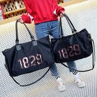 Love Pink Gym Bag Women Fitness Sport Bags Large Capacity Mickey Training Female Yoga Duffel Bag Waterproof Secret Vs Handbags