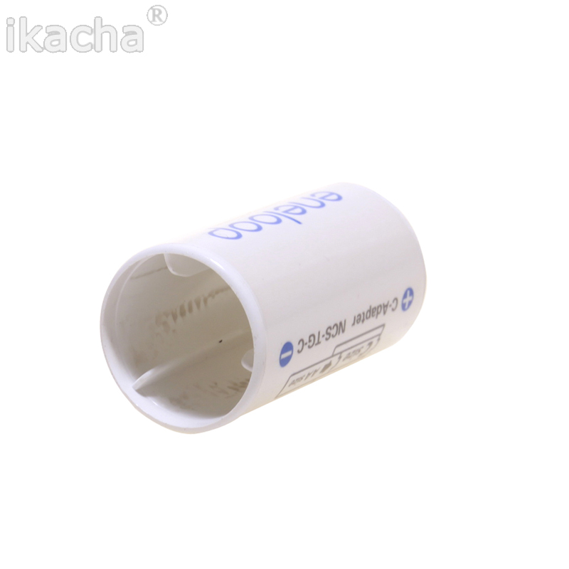 Image 2 - For All Types For Sanyo Ene Loop Battery Adaptor Converter NCS TG C AA R6 to C R14 C Size High Quanliyt-in Battery Storage Boxes from Consumer Electronics