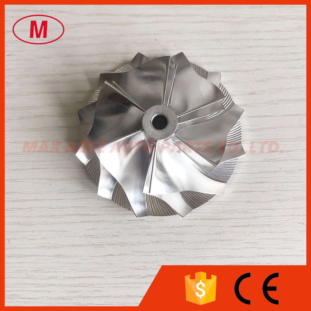 CT26 6 + 6 лезвий 53,11/70,98 мм Высокая производительность турбо алюминиевый 2618/Фрезерование/заготовка колеса компрессора