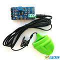 Elecrow High Quality Easy Pulse Plugin V1.0 Pulse Sensor for Arduino Heart Rate Sensors DIY Kit Open Source Free Shipping