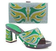 2016 neue Mode Italienische Schuhe mit Passenden taschen Für Party, African Schuhe Und Taschen für Hochzeit schuh und tasche