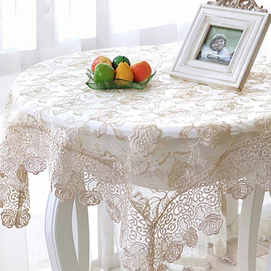 Tovaglia Da Tavola Moderna panno di tabella tovaglia tavolo da pranzo rotondo del