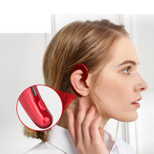 HAOBA Bluetooth 4.1 Wireless Headset Bone Conduction Headphones With Mic Hands-free Noise Canceling Sport Earphone For Phone edal bone conduction headphones earphone wired noise reduction earphones hands free outdoor sports with microphone smart phone
