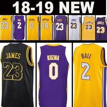 f56019b53f0 2 Lonzo Ball jersey 0 Kyle Kuzma 23 James JERSEY Men's 14 Brandon Ingram 24  Kobe Bryant JERSEYS Top sales