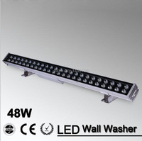 2pcs Lot 48w Led Flood Spot Light LED Wall Washer Light 48W 1000mm 70 55mm AC85