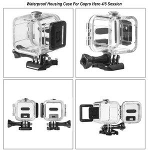 Image 5 - Водонепроницаемый чехол для корпуса камеры, маленькая коробка для хранения, жесткая сумка для Gopro Hero 6 5 4 3 3 + 5, чехол для подводной защиты