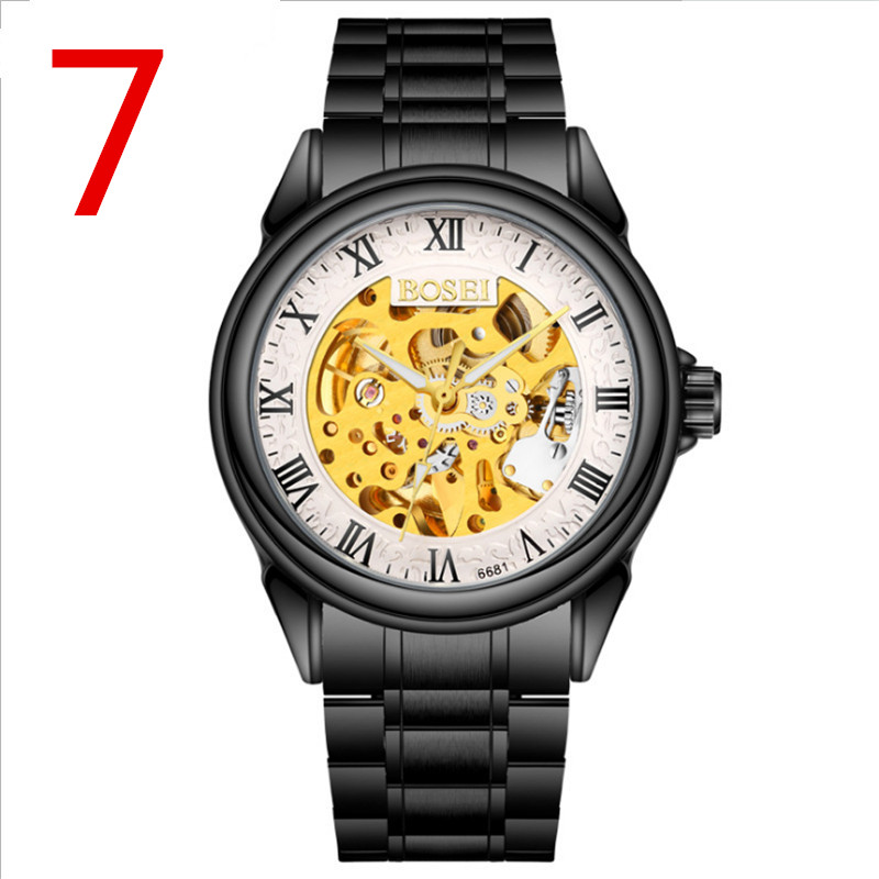 Mens fashion stainless steel watch with elegant luxury business watch Mens fashion stainless steel watch with elegant luxury business watch