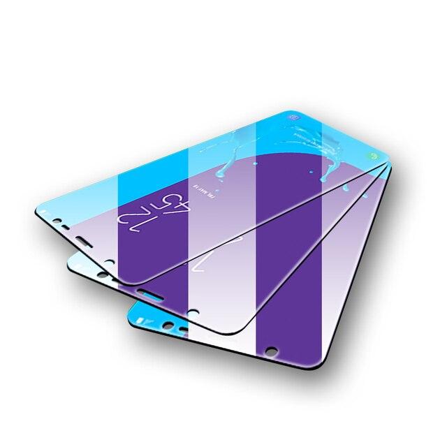 3 Pcs מגן זכוכית לסמסונג גלקסי A7 A9 2018 J6 A6 A8 J4 בתוספת מסך מגן 9 H 2.5D מזג זכוכית לסמסונג J6 2018