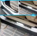 ACCESSORIES FIT FOR 2014- NISSAN ROGUE X-TRAIL T32 DOOR SILL PANEL SCUFF PLATE KICK STEP COVER TRIM PROTECTOR