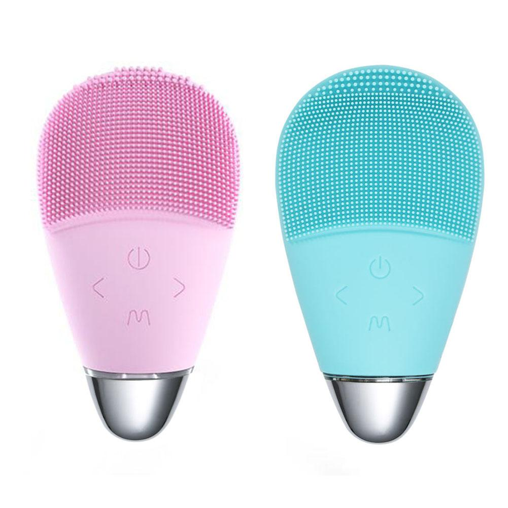 Silicone Facial Cleaning Brush Deep Pore Cleaner Exfoliation
