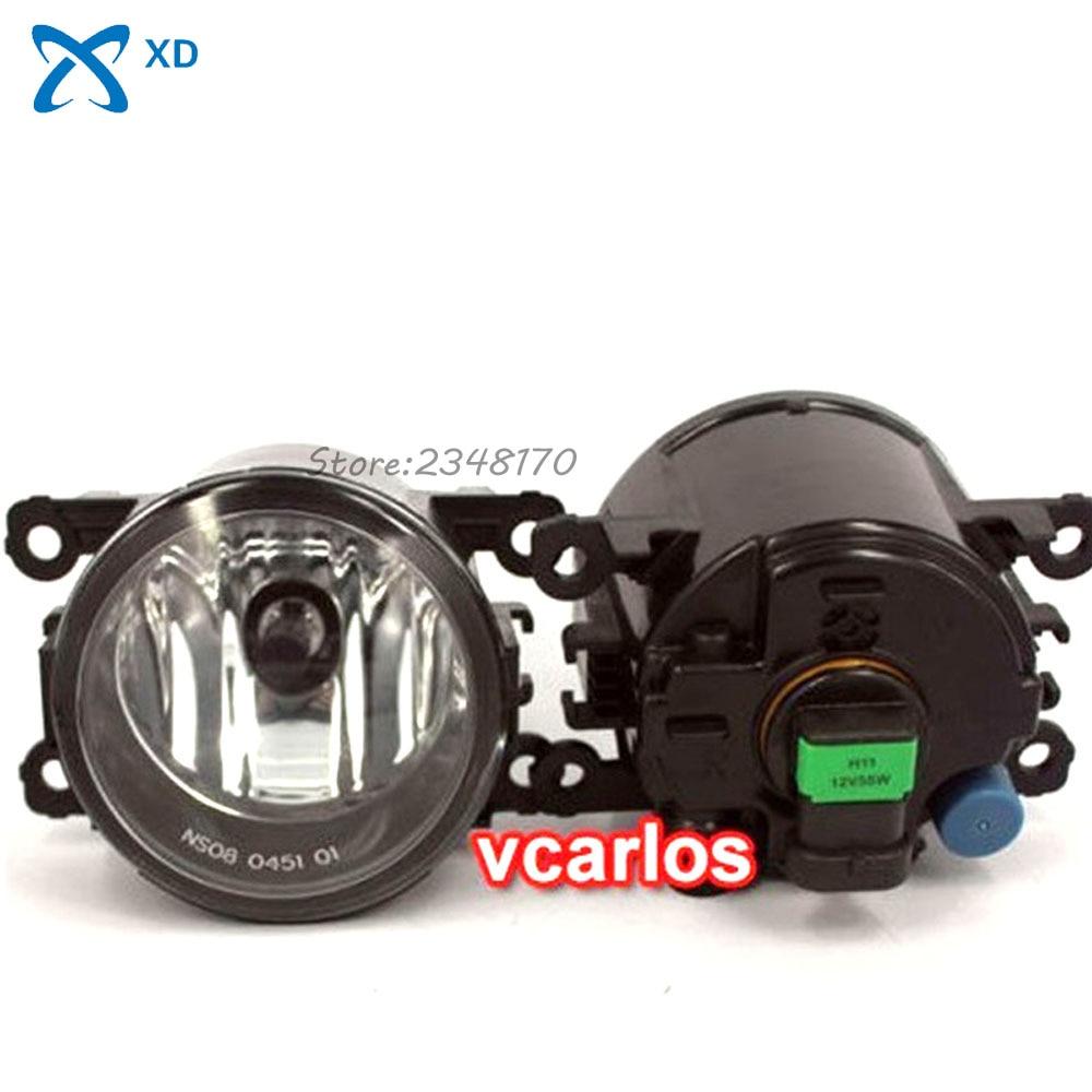 Fog lights Lamp For FORD FIGO 2012~ON Clear Lens PAIR SET + Wiring Kit fog light set Free Shipping fog light set 12v 55w car fog lights lamp for toyota hiace 2014 on clear lens wiring kit free shipping