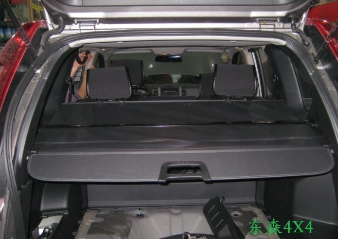 Quality! Retractable rear cargo cover trunk shade security cover Black for Nissan X-trail X Trail 2008 2009 2010 2011 2012 2013
