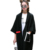 2016 Mujeres del Otoño Nuevo Color del Golpe Asimétrico Marca Trinchera Abrigo Moda Trench Coat Moda Femenina Superior