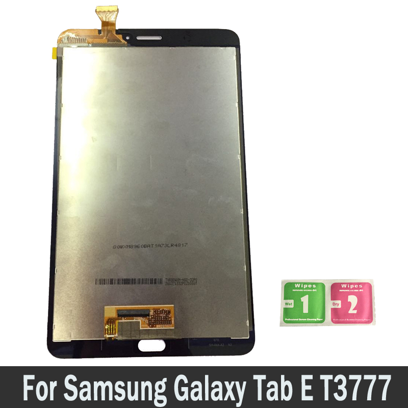 For Samsung Galaxy Tab E T3777 SM-T3777 Tablet LCDs Touch Screen Digitizer Sensors Full Assembly Panel Replacement PartsFor Samsung Galaxy Tab E T3777 SM-T3777 Tablet LCDs Touch Screen Digitizer Sensors Full Assembly Panel Replacement Parts